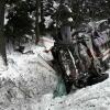 Řidič zůstal po nehodě zaklíněn ve vozidle