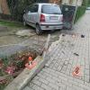 Řidič v Rohli vjel na chodník a zranil chodkyni
