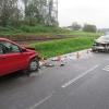 Zraněním řidičky skončila čelní srážka vozidel na Jesenicku