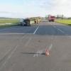 Kolize dvou vozidel na křižovatce v Paloníně