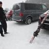 Policisté varují lyžaře v Jeseníkách