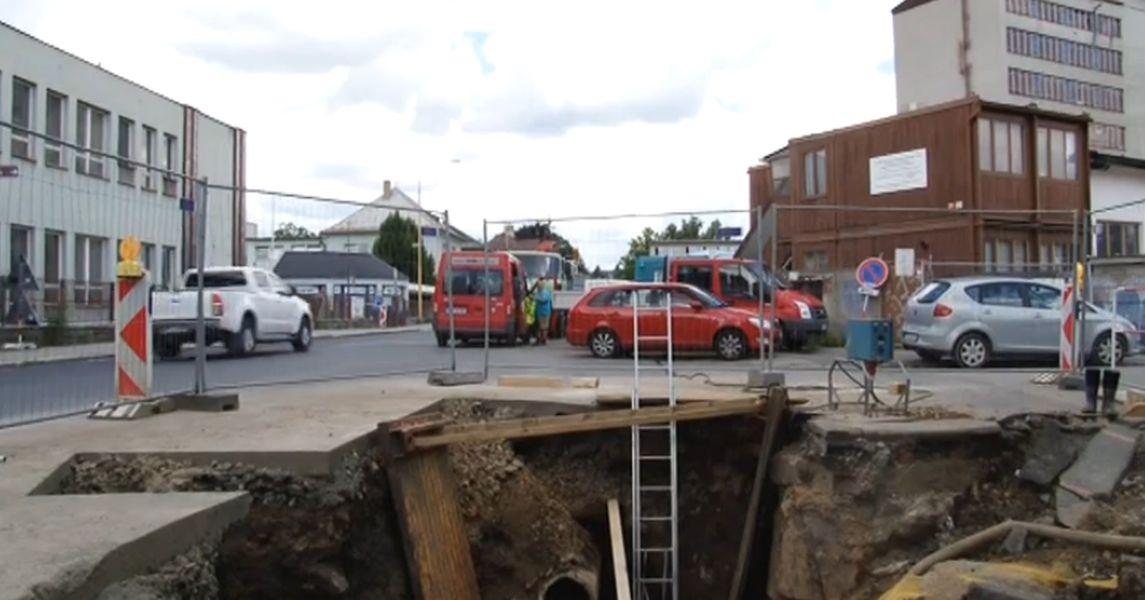 rekonstrukce kanalizace v Šumperku zdroj foto:archiv
