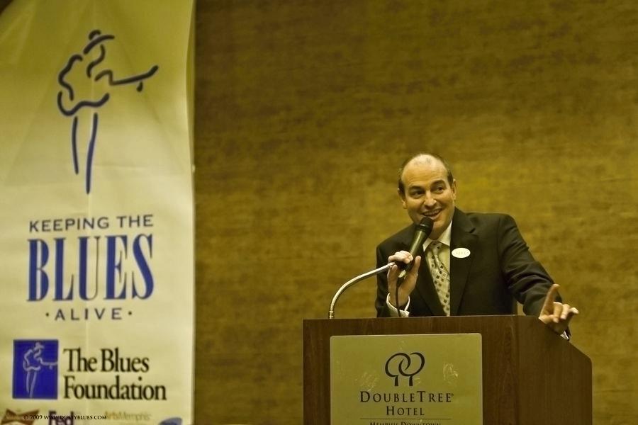 Jay Sieleman ředitel nadace The Blues Foundation zdroj foto:DK