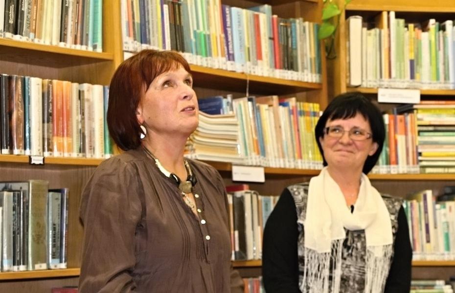 Věra Kovářová a Zdeňka Daňková foto:K.Šeligová