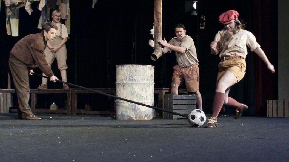 divadelní zkouška - Rychlé šípy