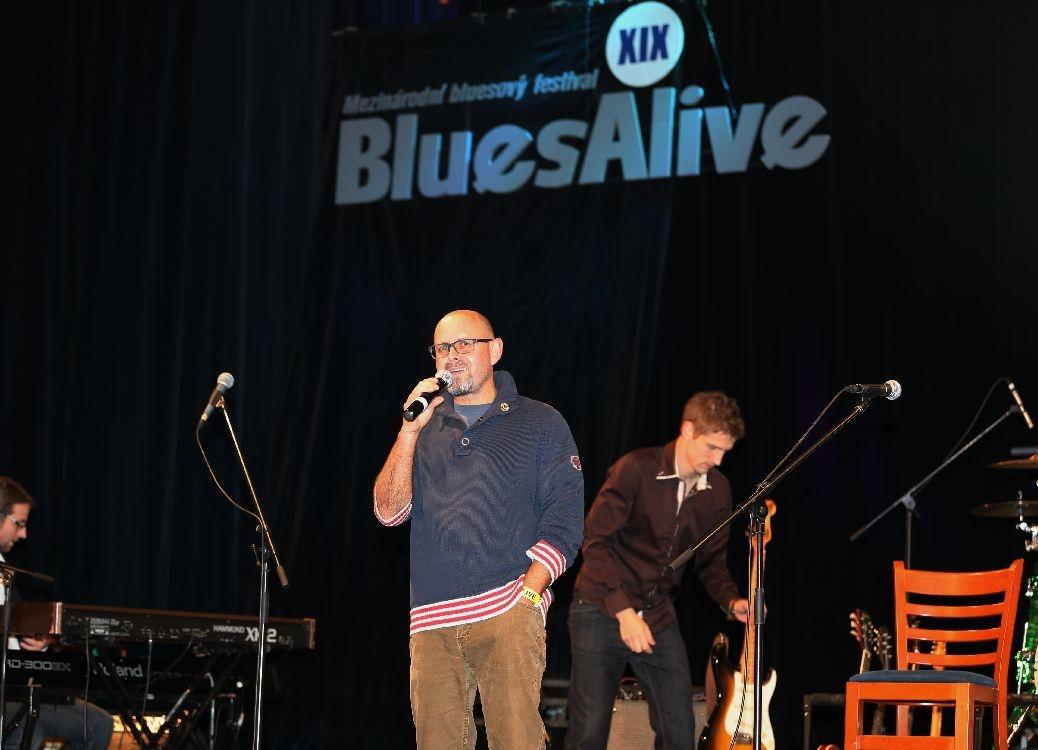 zahájení festivalu Blues Alive