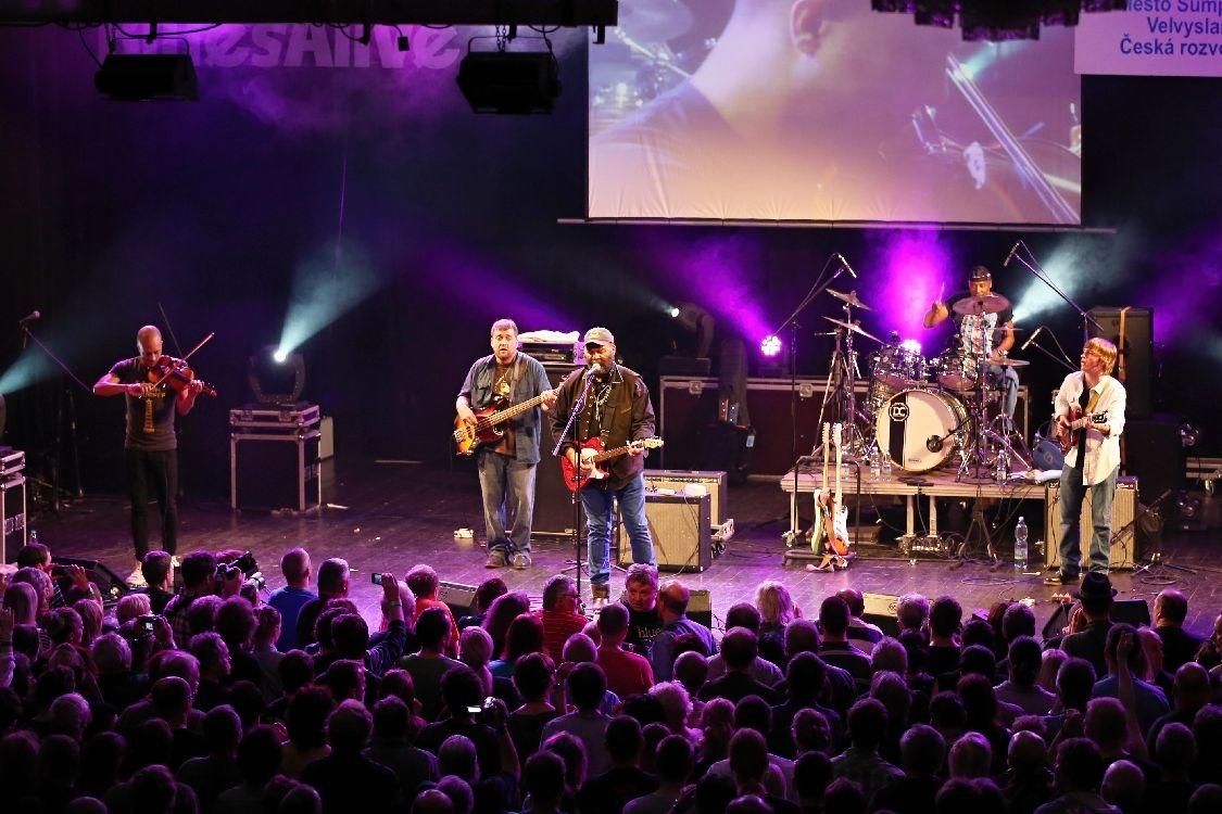 závěrečný koncert Blues Alive 2014