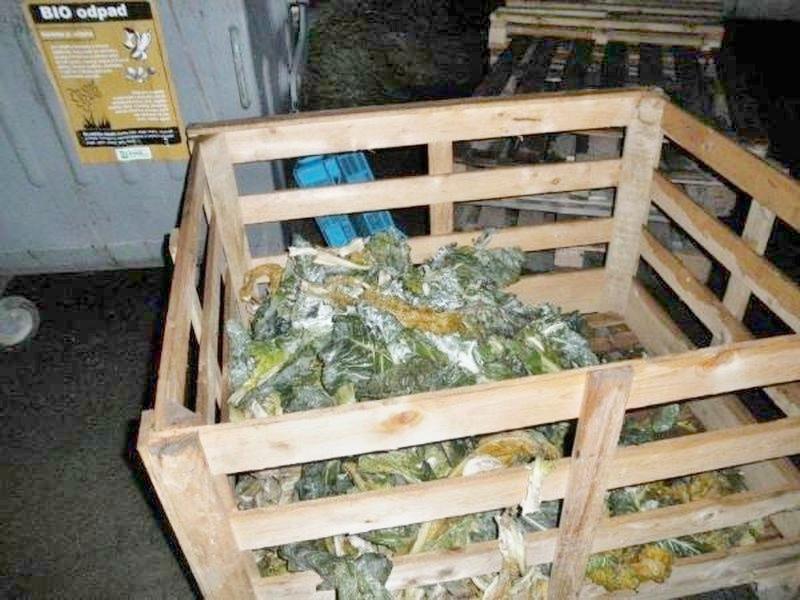 nelegální sklad potravin v Bruntále zdroj foto:SZPI