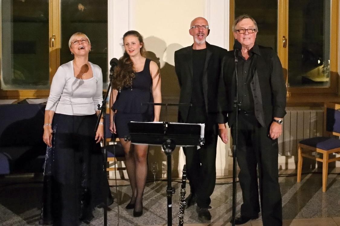 Petr Král s hereckými kolegy - vzpomínkový večer