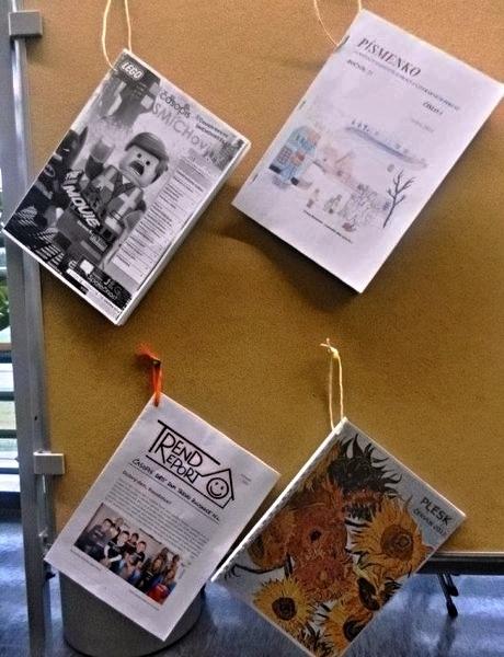 Smíchoviny se staly Školním časopisem roku 2014 zdroj foto:J.Gloza