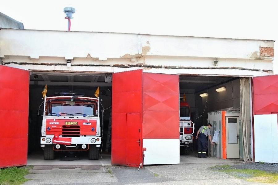 hasičská zbrojnice v Temenici