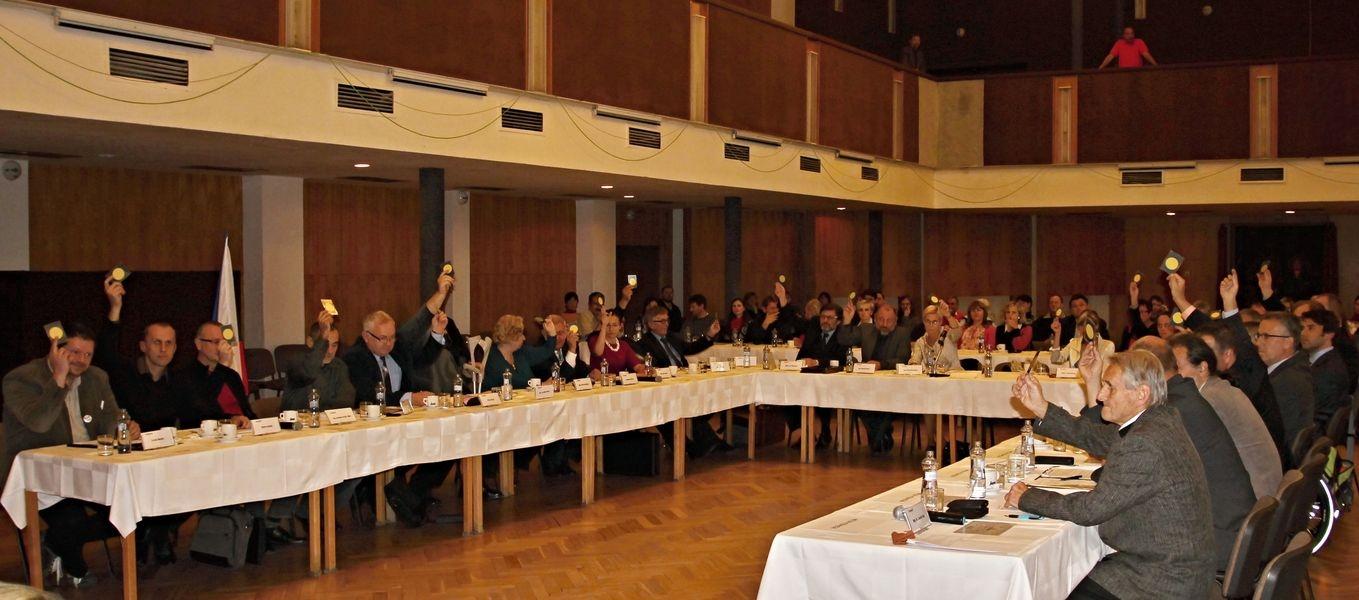 ustavující zasedání zastupitelstva v Šumperku