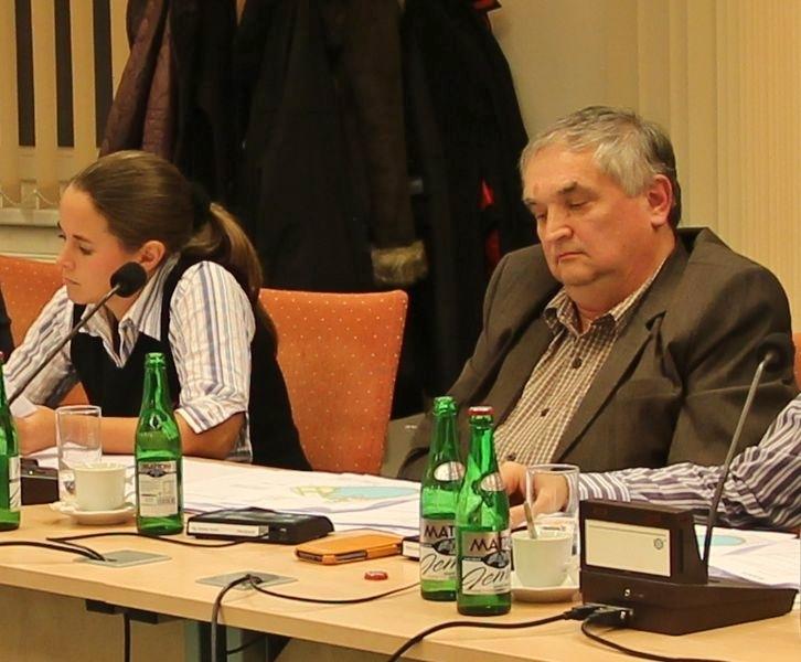 Zdeňka Dvořáková Kocourková a Jaroslav Horák při jednání ZM foto:sumpersko.net
