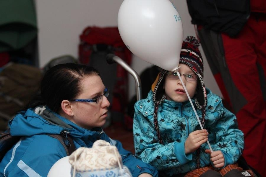 Lukášek Bílý s maminkou foto: sumpersko.net