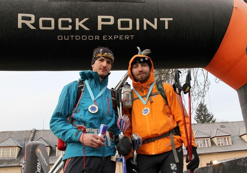 RP - Zimní výzva 2015 Pavel Paloncý s Filipem Šilarem foto: Patrik Pátek