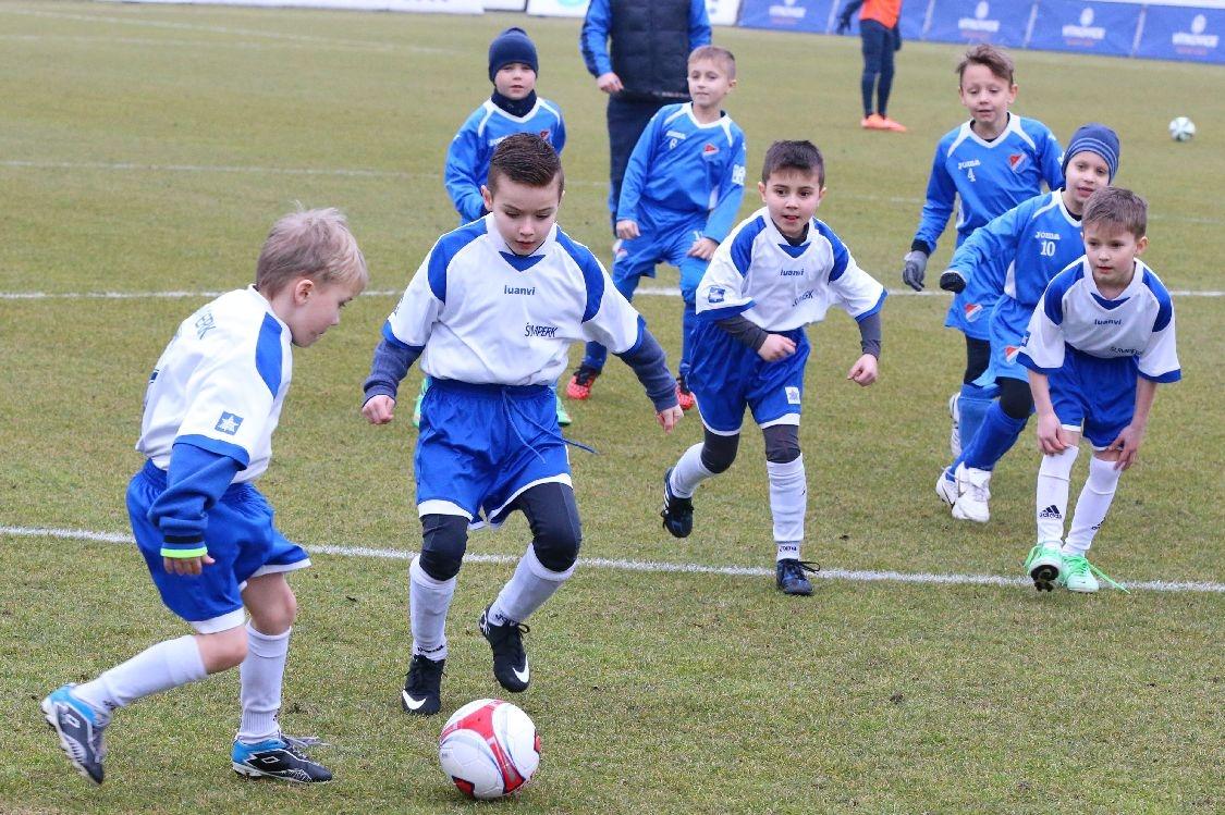 hra mladých šumperských fotbalistů