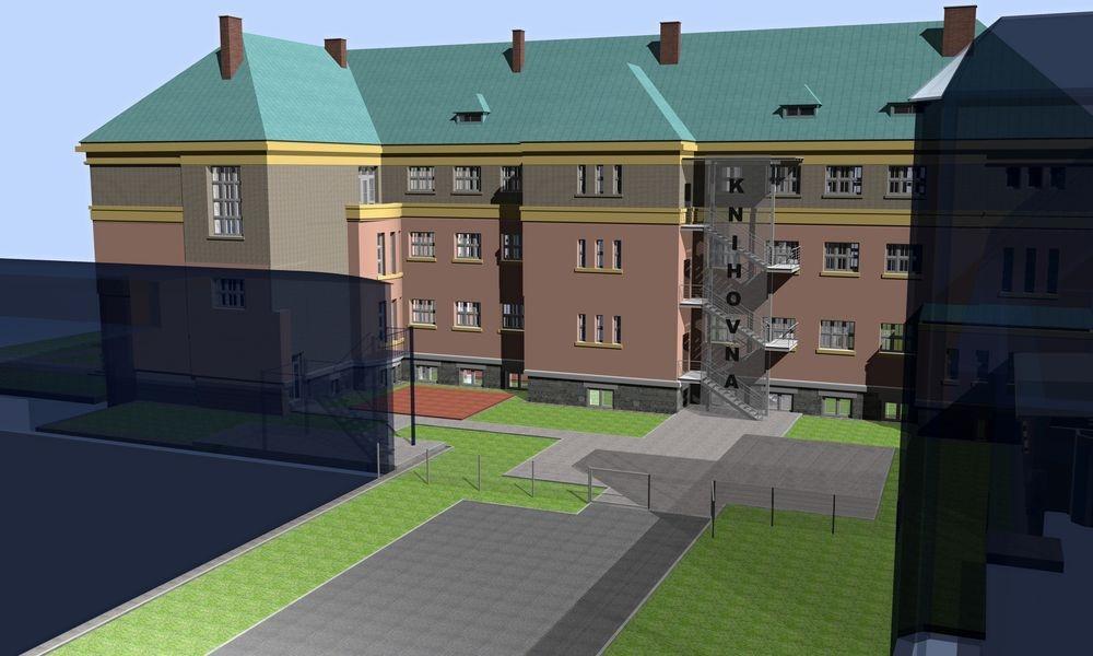 vizualizace řešení MK v Šumperku zdroj: Proink