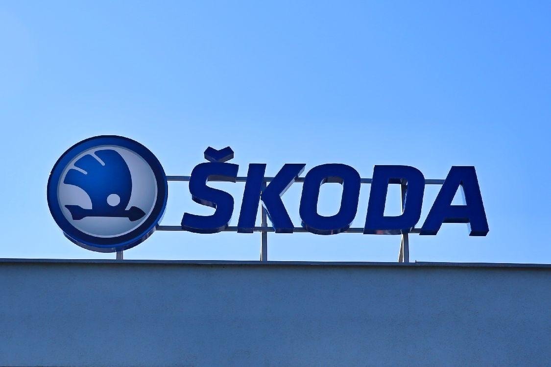 logo Škoda v Šumperku