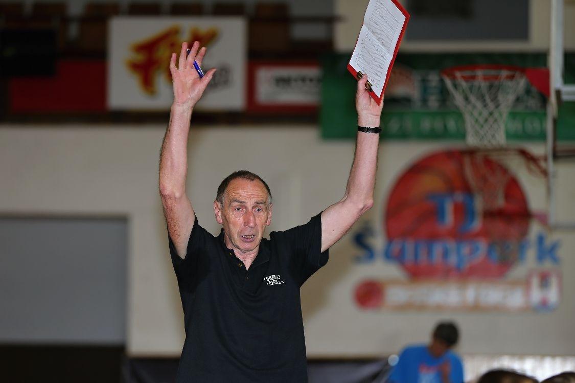 trenér Josef Sitař foto:sumpersko.net