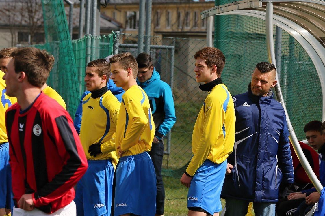 U 19 FK Šumperk vs U 19 Sparta Brno foto: sumpersko.net