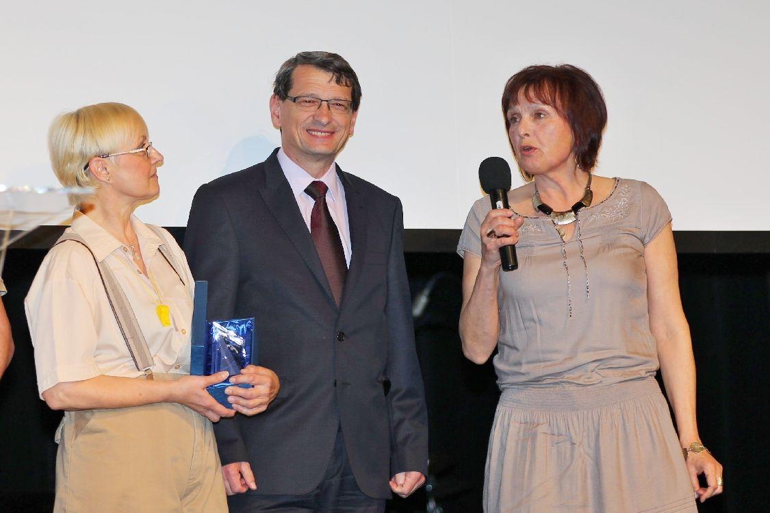 Ceny města Šumperka 2014 - slavnostní večer - Věra Kovářová foto: sumpersko.net