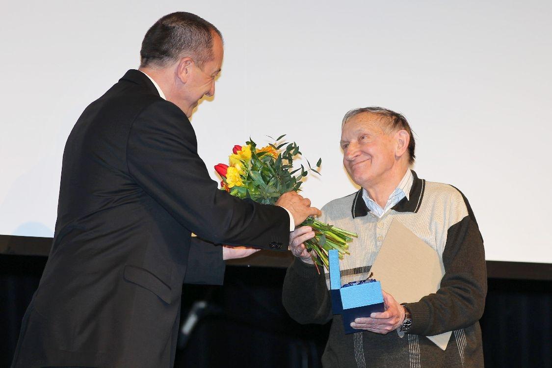 Ceny města Šumperka 2014 - slavnostní večer - Zdeněk Gába foto: sumpersko.net