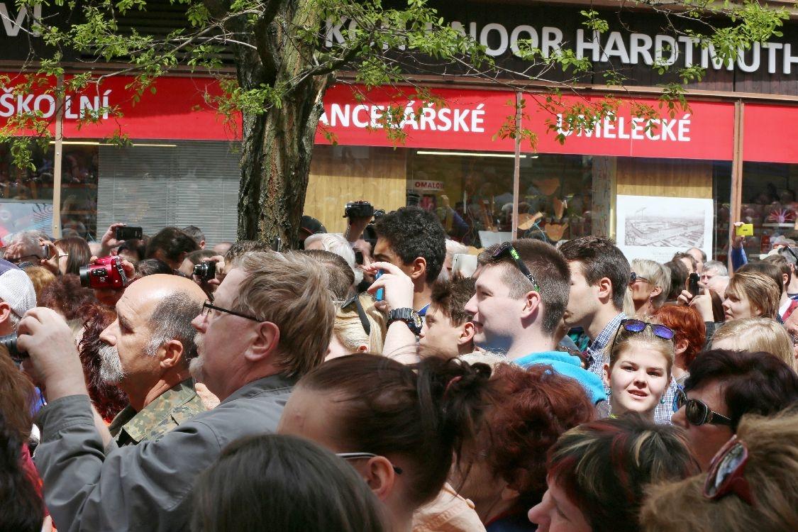 mítink v Šumperku foto:sumpersko.net