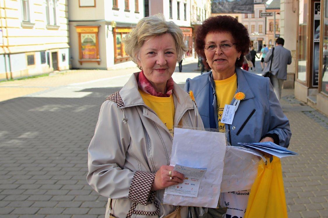 Český den proti rakovině 2015 - foto: sumpersko.net
