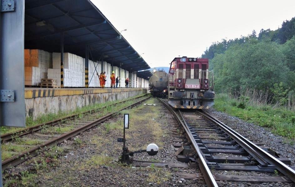 vlečka Olšany zdroj foto: Drážní inspekce