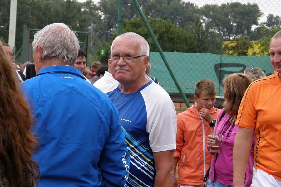 prezident Václav Klaus v Šumperku foto: archiv sumpersko.net