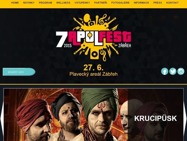 web festivalu