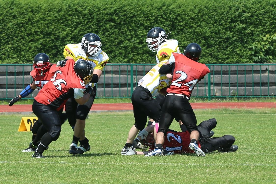 utkání Dietos vs Gladiators 2015 foto: sumpersko.net