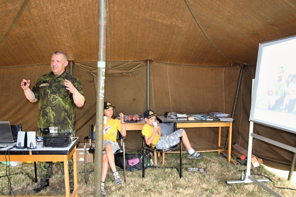 veterán podplukovník Jaroslav Kulíšek foto:sumpersko.net