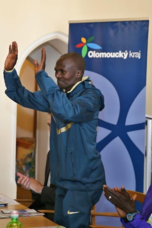 Olomouc - tisková konference před závodem foto:sumpersko.net
