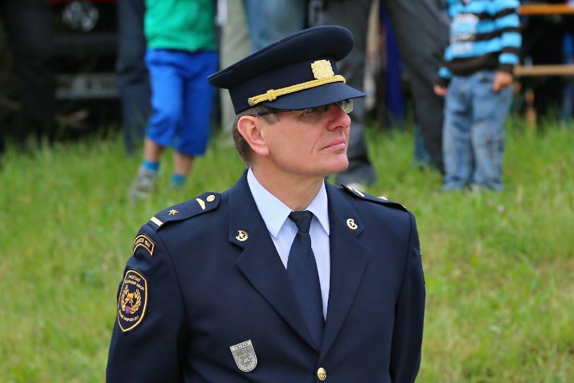 IZS v akci - zástupce ředitele Karel Ondruch foto:sumpersko.net