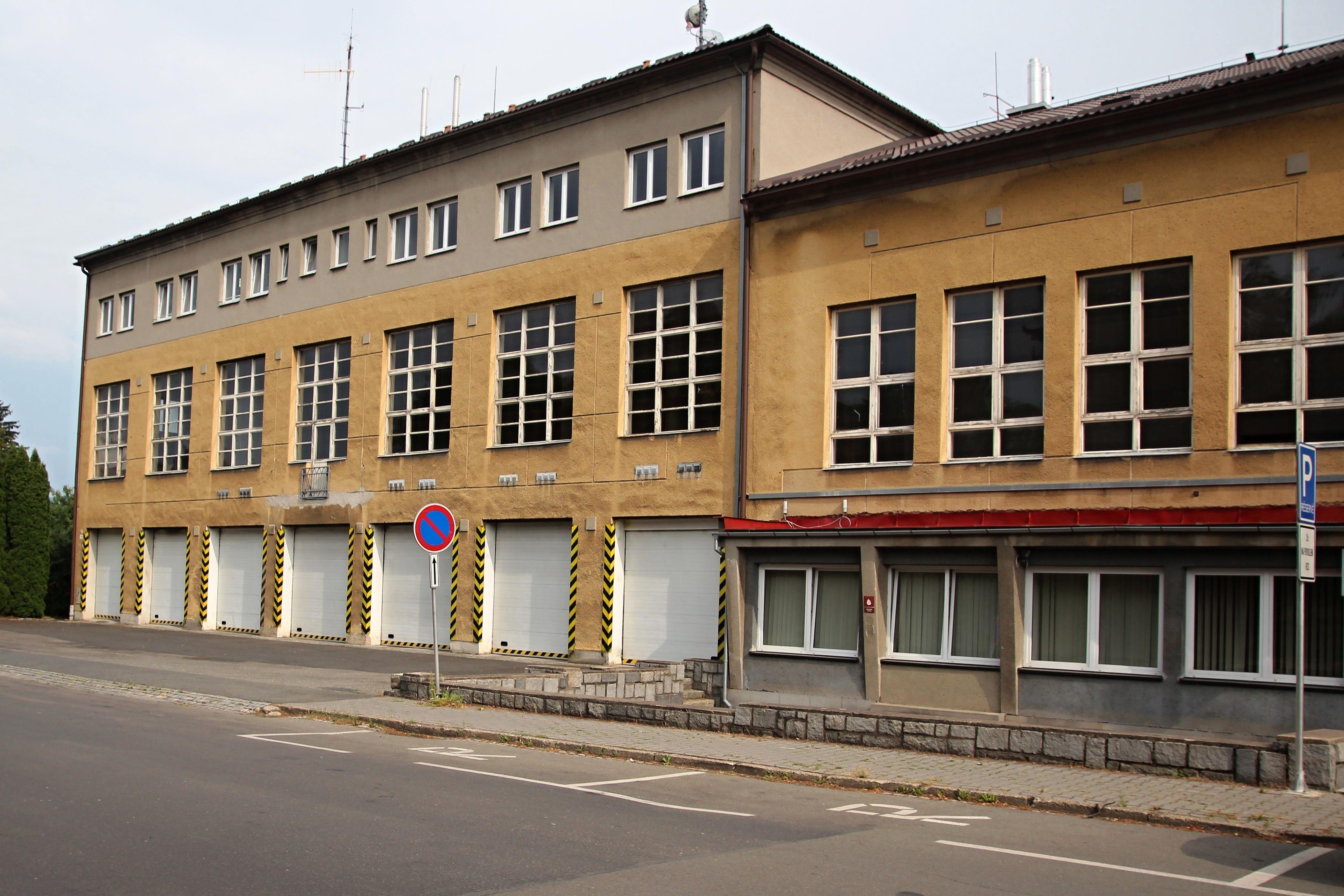 Šumperk - budova centrální požární stanice projde rekonstrukcí foto: sumpersko.net