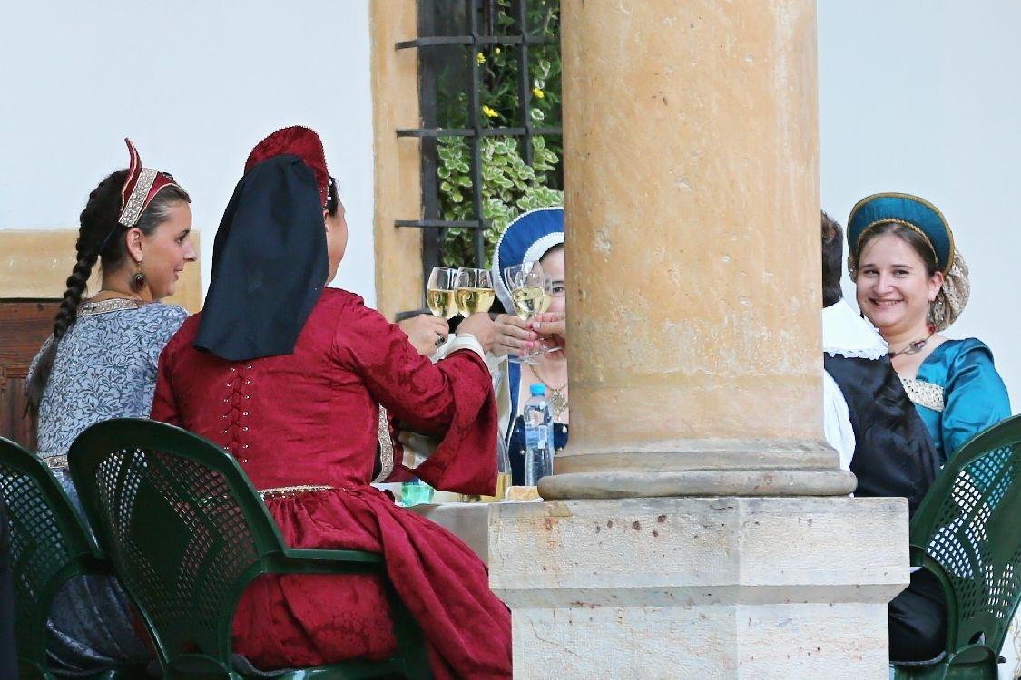 zámecký bál ve Velkých Losinách foto: sumpersko.net
