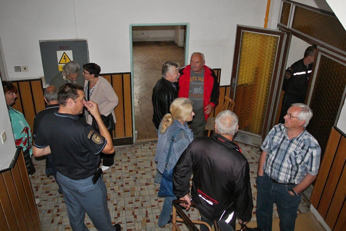 Šumperk - rozlučka s požární stanicí foto: sumpersko.net