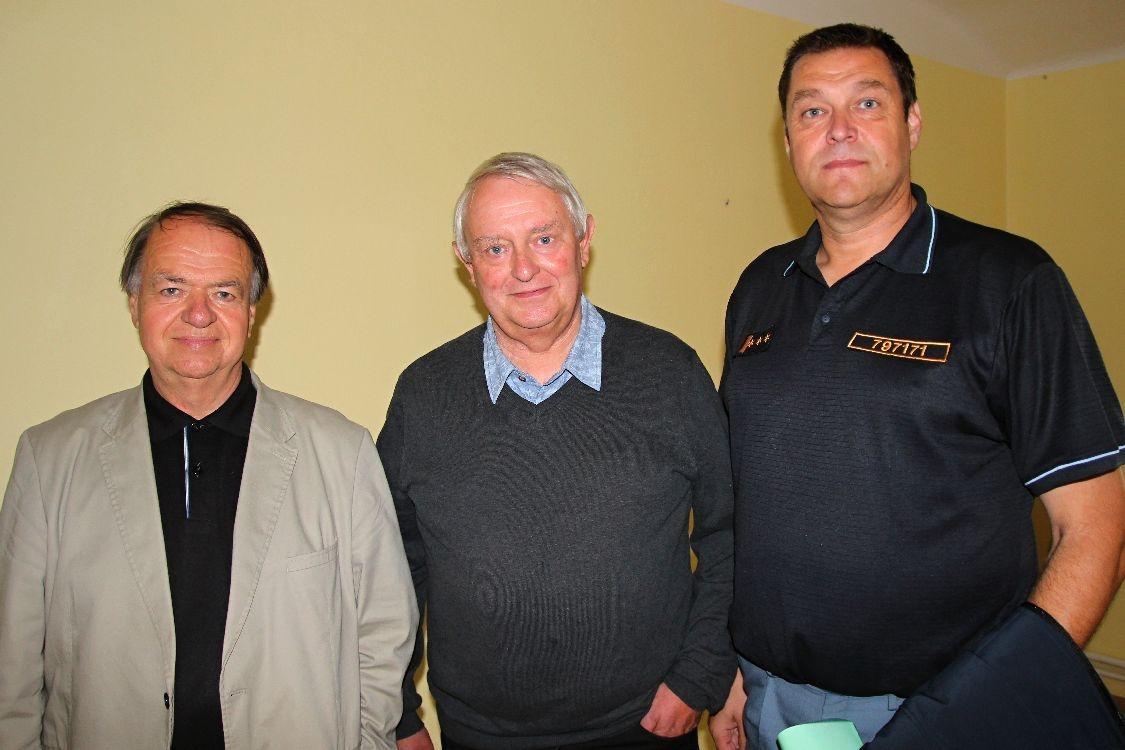 Karel Štancl, Zděnek Wiesner a Martin Žaitlik foto: sumpersko.net