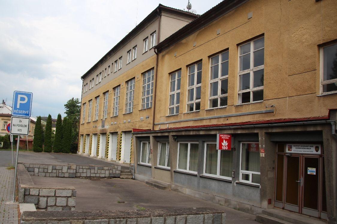 Šumperk - požární stanice foto: sumpersko.net