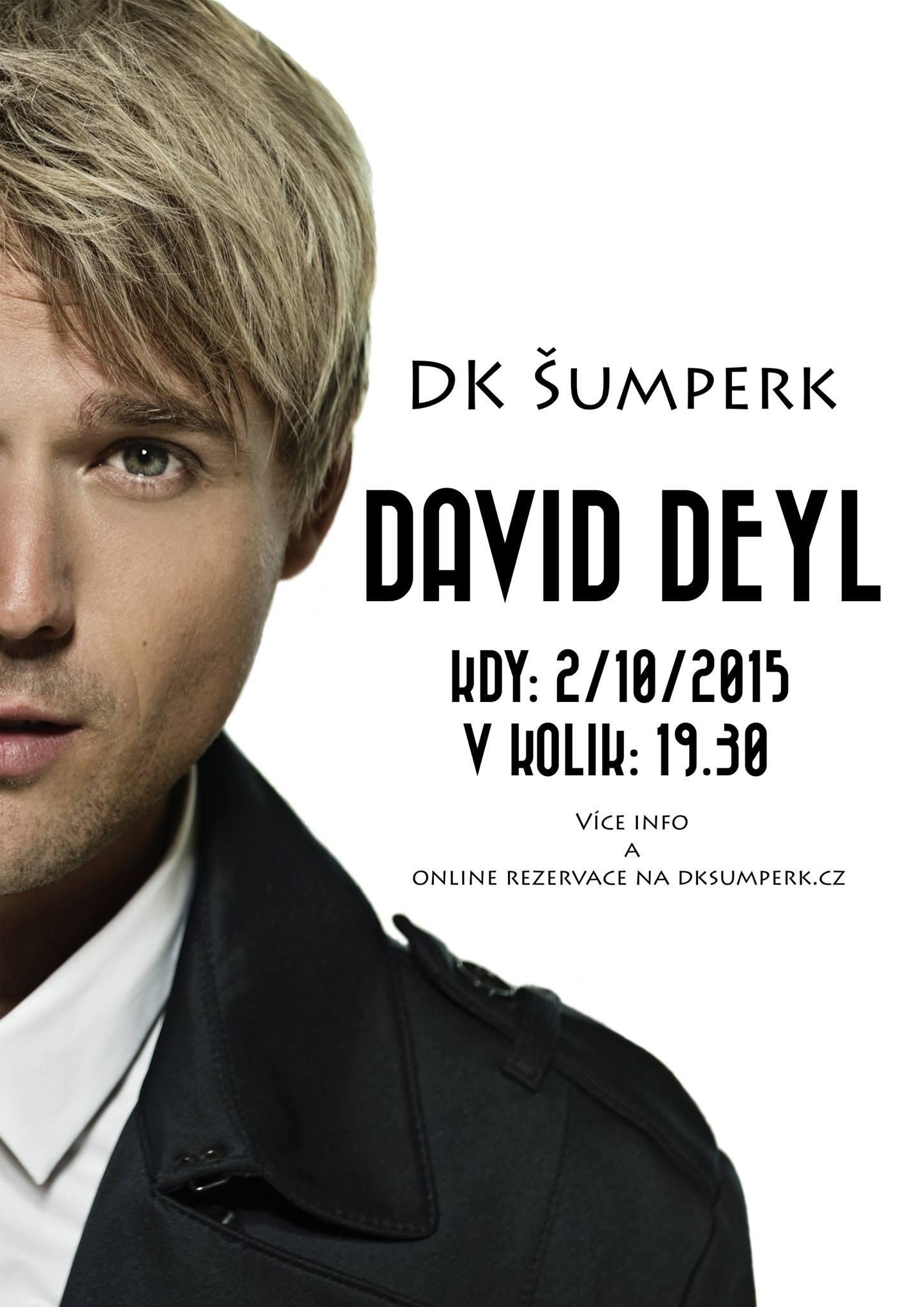 David Deyl v Šumperku zdroj foto: dk