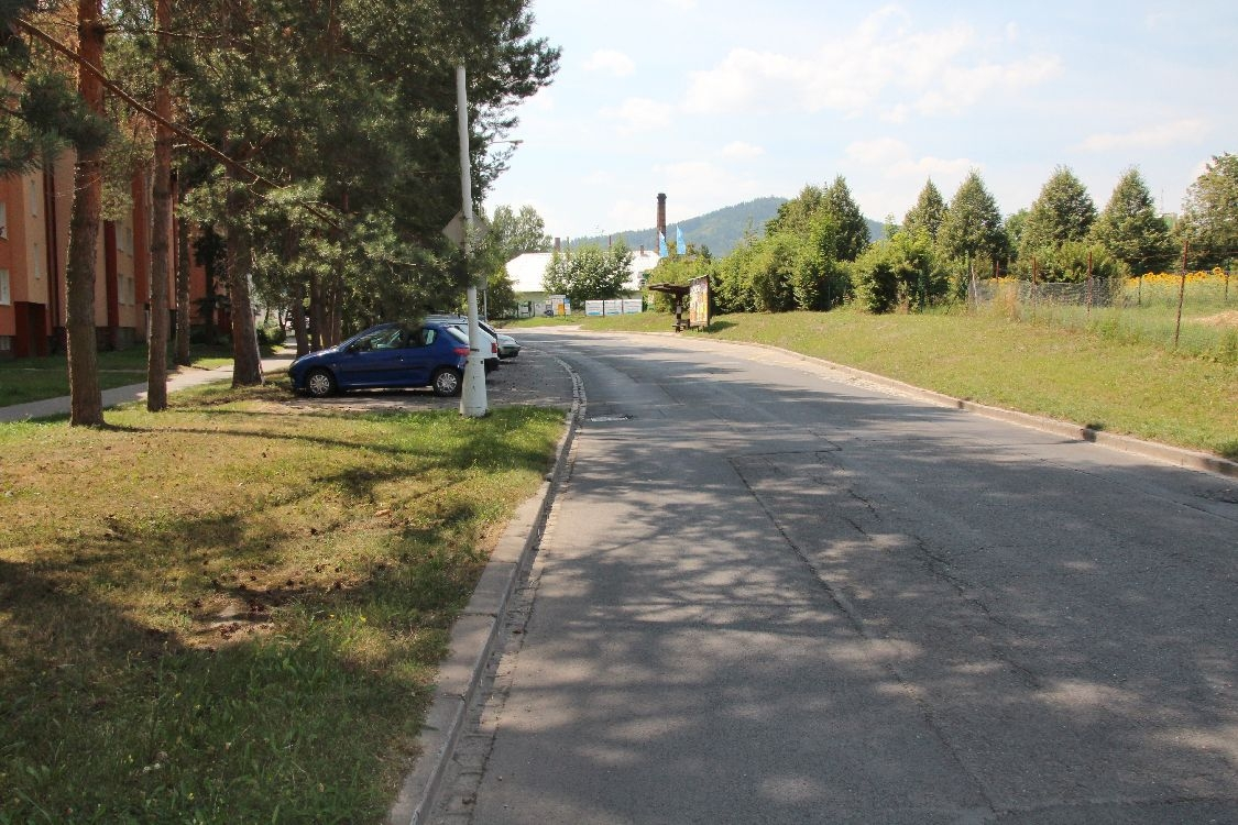 Šumperk - ulice Šumavská foto: sumpersko.net