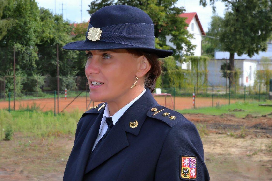 Vladimíra Hacsiková, tisková mluvčí HZS Olomouckého kraje foto: sumpersko.net