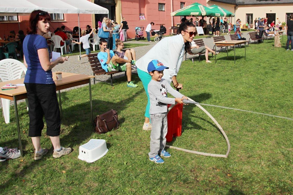Zábavné odpoledne nejen s hasiči foto: sumpersko.net