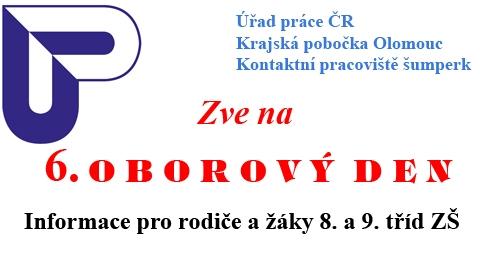 Oborový den - pozvánka zdroj: ÚP Špk