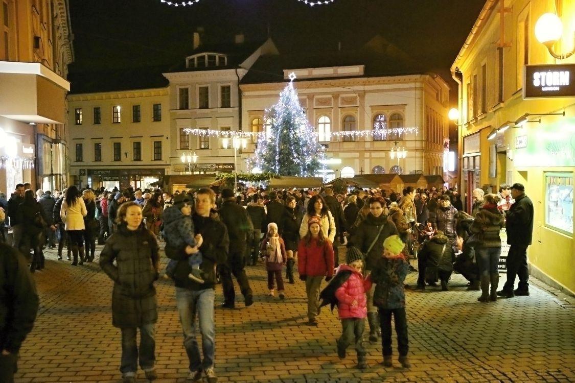 Šumperk - Vánoce na Točáku 2014 foto: sumpersko.net