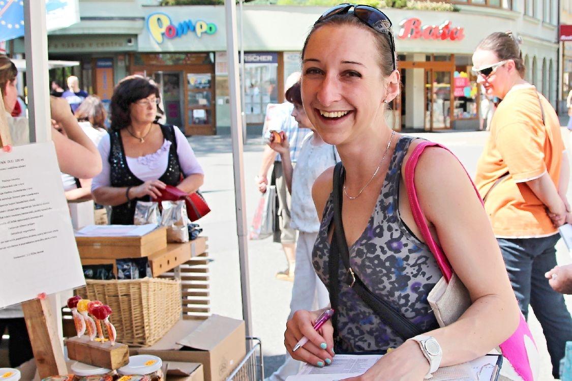 organizátorka Lucie Hošková foto: archiv sumpersko.net