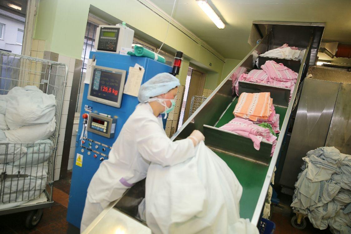Nemocnice Šumperk - prádelenský provoz foto: sumpersko.net