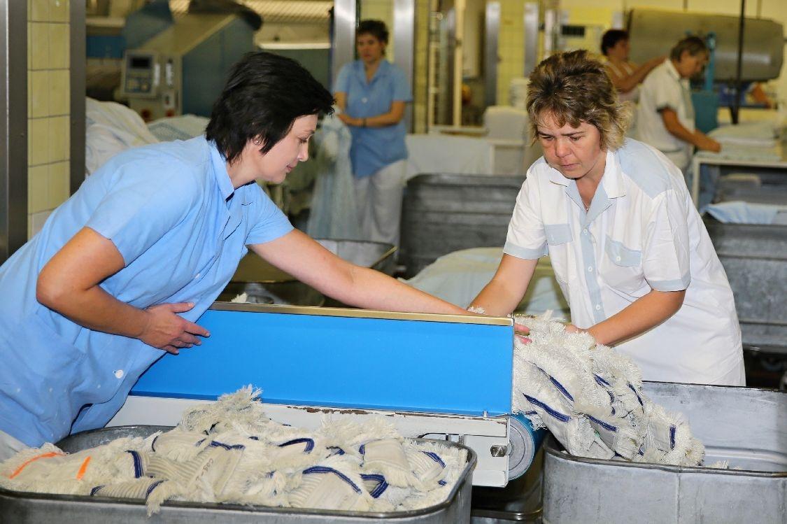 Nemocnice Šumperk - prádelesnký provoz foto: sumpersko.net