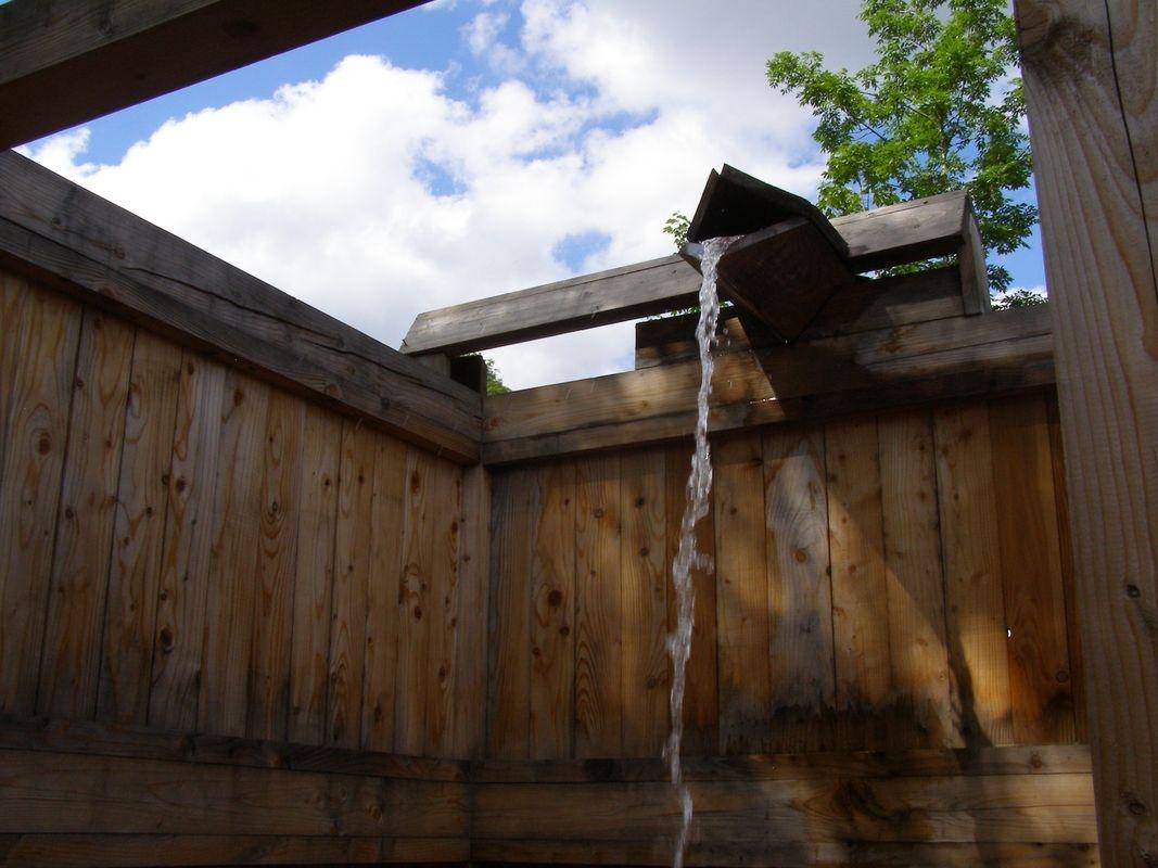 Jesenický Balneopark - Priessnitzova sprcha